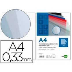 Tapa de Encuadernacion Polipropileno Liderpapel DIN A4 Transparente 0.33mm pack 150 uds