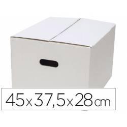 Caja para Embalar Q-Connect Americana 45x37,5x28 cm con Asa Doble Canal