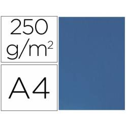 Tapa de Encuadernacion Carton Q connect A4 Azul 250gr pack 100 uds