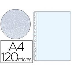 Funda Multitaladro Q-Connect A4 120 MC Piel de Naranja Caja 100