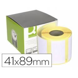 Etiqueta Adhesiva Q-connect KF18535 Tamaño 89X41 mm Compatible DYMO 11356