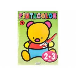 Cuaderno de Colorear Pinta Color 2 a 3 años