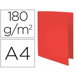 Subcarpeta Cartulina Reciclada A4 Exacompta Rojo 170 gr