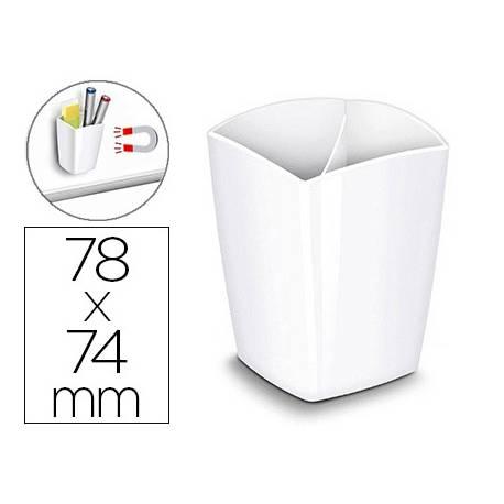 Cubilete Cep magnetico Blanco 78x74x95mm