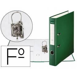 Archivador de Palanca Esselte Carton Forrado Folio Lomo de 50 mm Verde