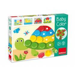 Juego educativo a partir de 2 años Mosaico Baby Color de Goula