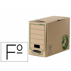 Caja Archivo Definitivo Fellowes Reciclado Folio 150 mm