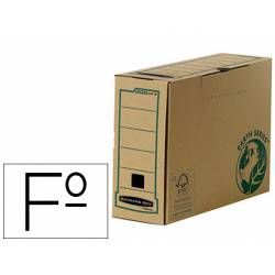 Caja Archivo Definitivo Fellowes Reciclado Folio 100 mm