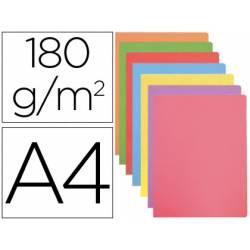 Subcarpeta cartulina Gio Din A4 colores pasteles