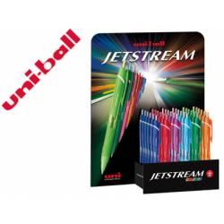 Expositor Boligrafo uni-ball jet stream sxn-157c Trazo 0,35 mm De 36 unidades Colores surtidos
