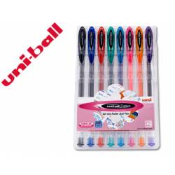 Boligrafo marca Uni Ball UM-120 0,4 mm 8 colores