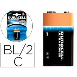 Pila Duracell alcalina Ultra Power 9V