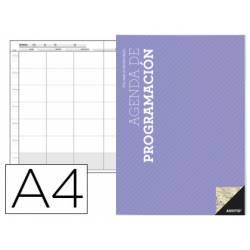 Agenda programación Additio mensual y semanal en castellano