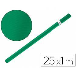 Bobina papel kraft Liderpapel 25 x 1 m verde musgo