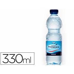 Agua mineral natural Fuente Primavera 330 ml