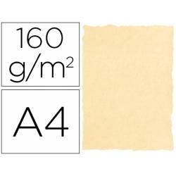 Cartulina pergamino DIN A4 Crema