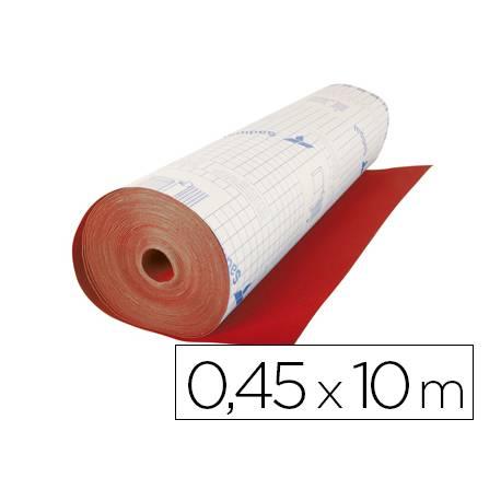 Rollo adhesivo Sadipal Aironfix terciopelo rojo