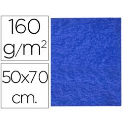 Fieltro Liderpapel 50x70cm color azul oscuro