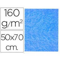 Fieltro Liderpapel 50x70cm azul claro