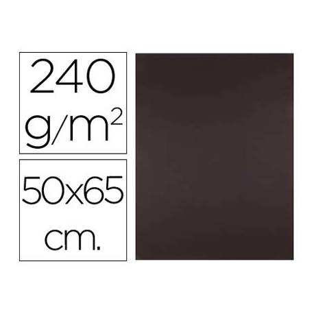 Cartulina Liderpapel 240 g/m2 color marron chocolate