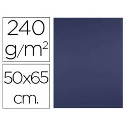 Cartulina Liderpapel 240 g/m2 color azul zafiro