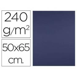 Cartulina Liderpapel 240 g/m2 color azul zafiro