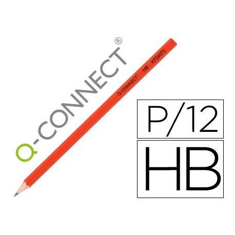 Lapices de grafito Q-connect HB