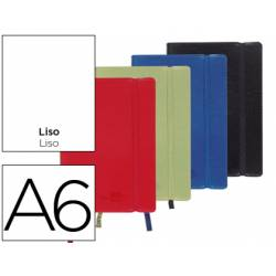 Libreta Liderpapel encolada liso Din A6