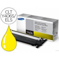 Toner Samsung CLT-Y406S/ELS Amarillo Impresora CLP-365