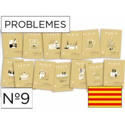 Cuaderno Rubio Problemes nº 9 Sumar y restar sin llevar Catalán
