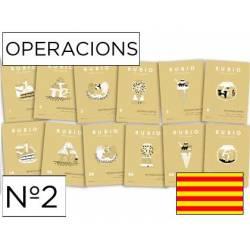 Cuaderno Rubio Operacions nº 2 Restar sin llevar Catalán