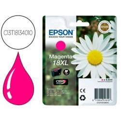 Cartucho Epson C13T18134010 color magenta XL. Epson 18xl