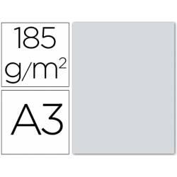 Cartulina Guarro din A3 plata 185 gr paquete 50 hojas