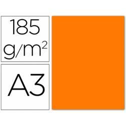 Cartulina Guarro naranja fluorescente