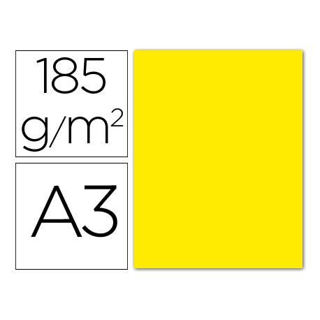 Cartulina Guarro amarillo fluorescente
