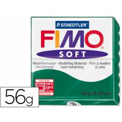Pasta para modelar Staedtler Fimo Soft color verde esmeralda