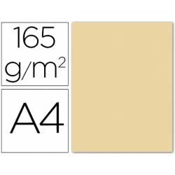 Papel color Liderpapel color crema A4 165g/m2 9 hojas