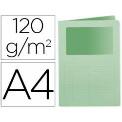 Subcarpeta cartulina Q-connect Din A4 verde