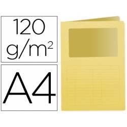 Subcarpeta cartulina Q-Connect Din A4 amarillo
