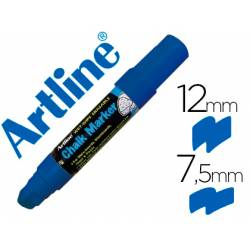 Rotulador Artline EPW-12 Marcador tipo tiza azul