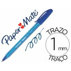Bolígrafo marca Paper Mate Inkjoy 100 1 mm Azul