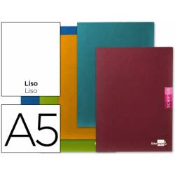 Libreta escolar Liderpapel Scriptus liso tamaño DIN A5 48 hojas