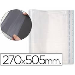 Forralibro PP ajustable adhesivo. Medida 270 x 505 mm.. blister