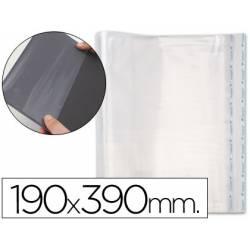 Forralibro pp ajustable adhesivo 190x390mm -blister
