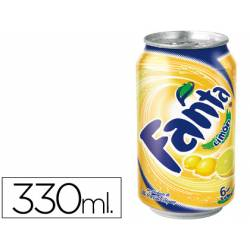 Refresco Fanta limon lata 330 ml