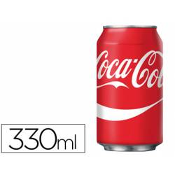 Refresco coca-cola lata 330ml normal