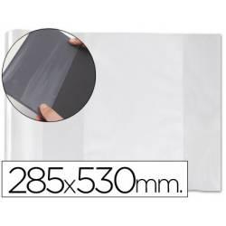 Forralibro PVC ajustable Medida 285 x 530 mm.