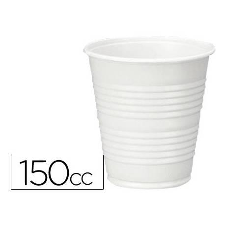 Vaso plástico blanco 150 cc