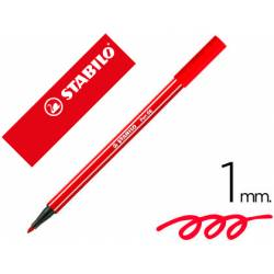 Rotulador Stabilo 68/48 color rojo Carmin 1 mm