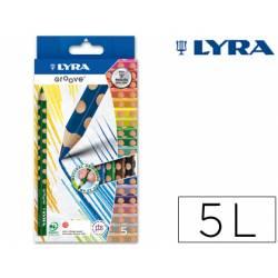 Lapices de colores Lyra groove triangular